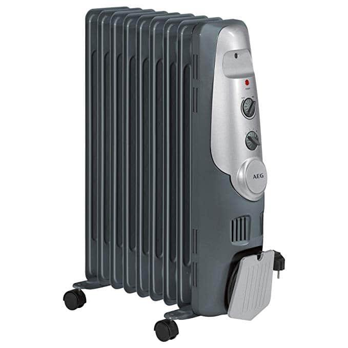 Un super chauffage d'appoint: Le radiateur à bain d'huile