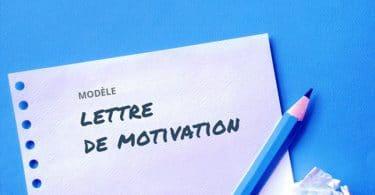 Lettre de motivation école architecture